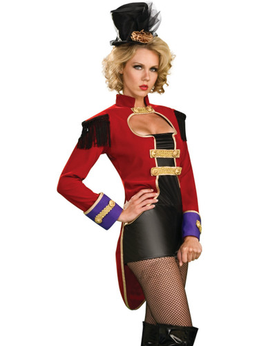 ... Mistress Lion Tamer Costume. //d3d71ba2asa5oz.cloudfront.net/13000235/images/rc889457-  sc 1 st  BlockBuster Costumes & Womens Adult Sexy Circus Ring Mistress Lion Tamer Costume