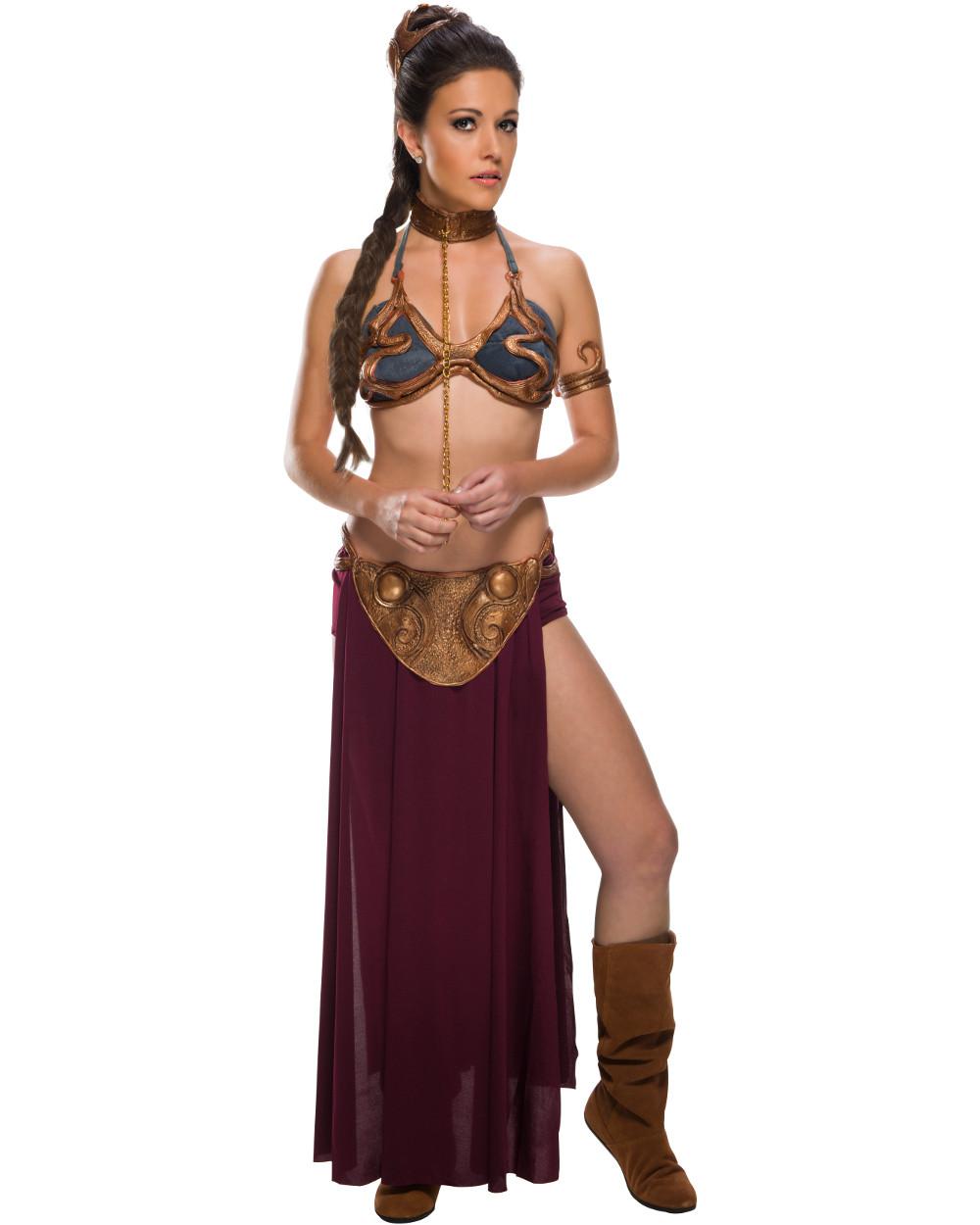 Star Wars Princess Leia Prisoner Women Costume