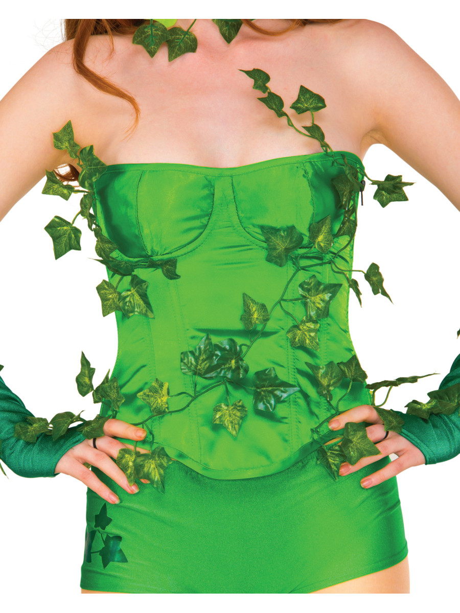 Adults Womens Sexy Deluxe Poison Ivy Corset-6039