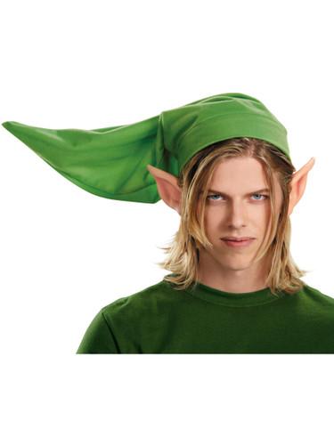 sc 1 st  BlockBuster Costumes & Adults Legend Of Zelda Link Hat And Ears Kit
