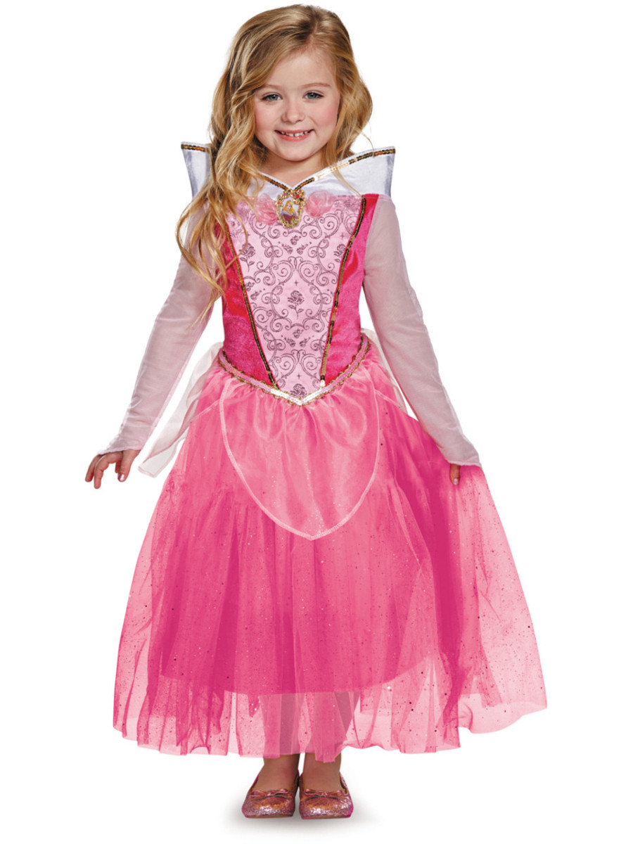 Deluxe Aurora Sleeping Beauty Ball Gown