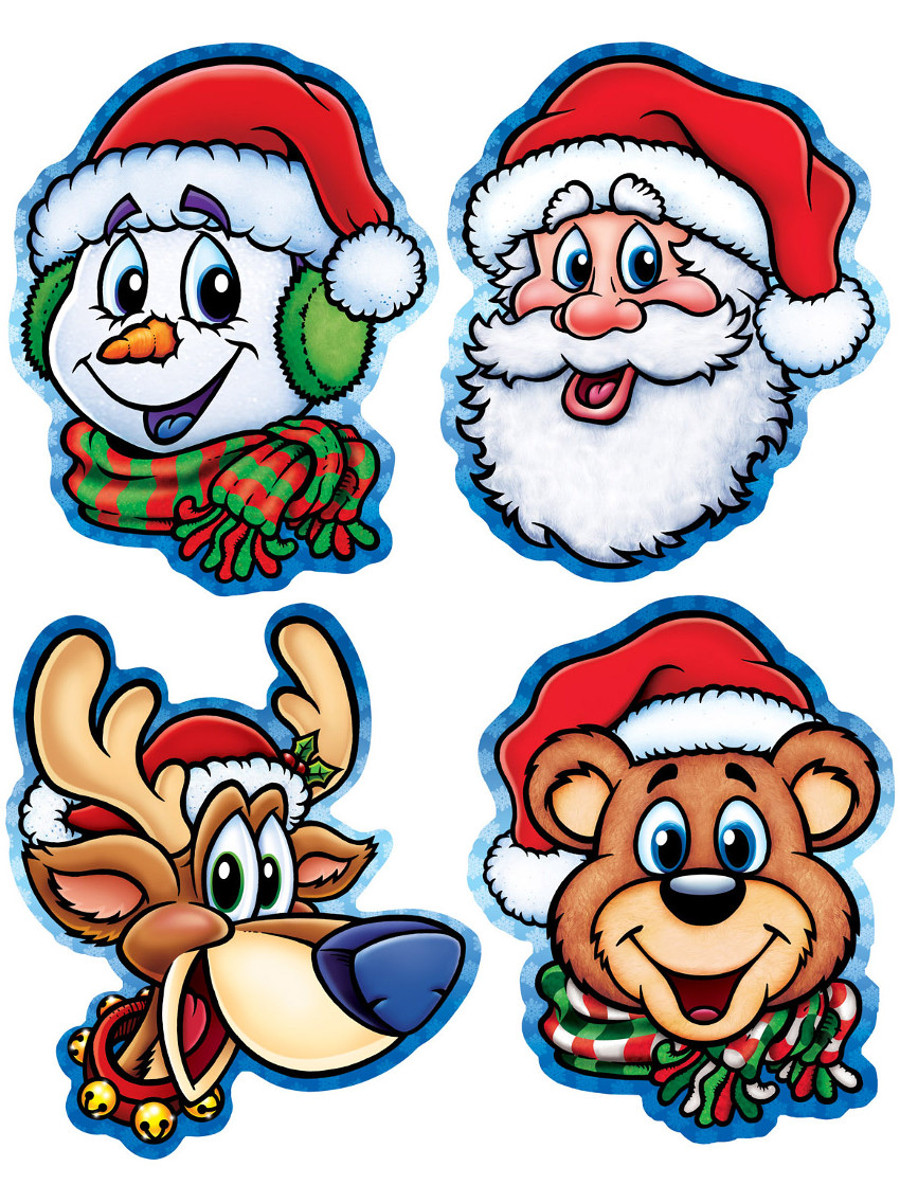 Christmas Cut Out Characters