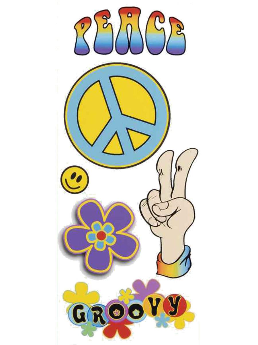 Flower Power Temporary Tattoos