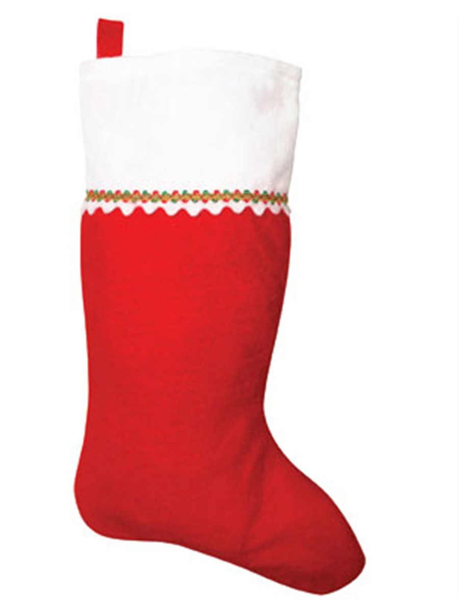 19 Inch Classic Christmas Stocking