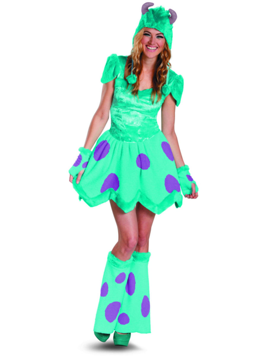 deluxe monsters inc sully costume
