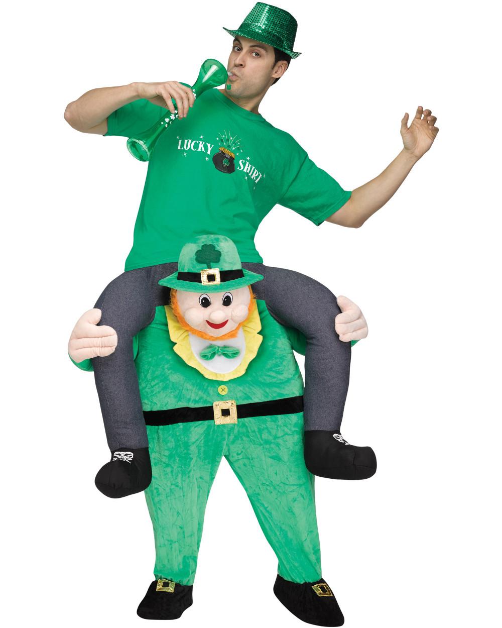 ... Leprechaun Costume. //d3d71ba2asa5oz.cloudfront.net/13000236/images/fw119624__2.  sc 1 st  BlockBuster Costumes & Menu0027s Carry Me Leprechaun Costume