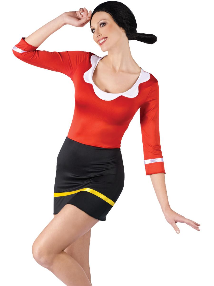 Olive oyl sexy costume