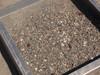 Glass, debris, rust nails, pebbles left behind (Coarse screen shown)