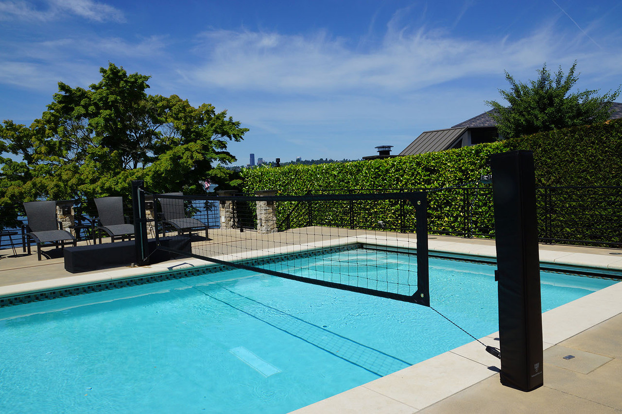 pool volleyball systems