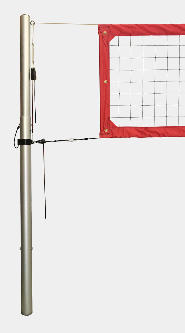 indoor and outdoor volleyball poles
