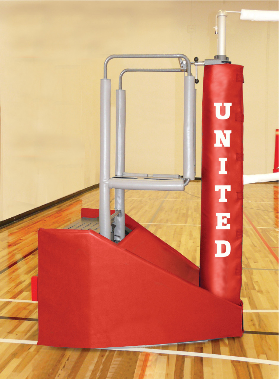 indoor volleyball system free standing systems vb adapt