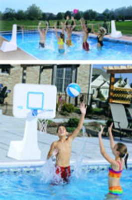 BV 700 Volleyball / Basketball Combo System