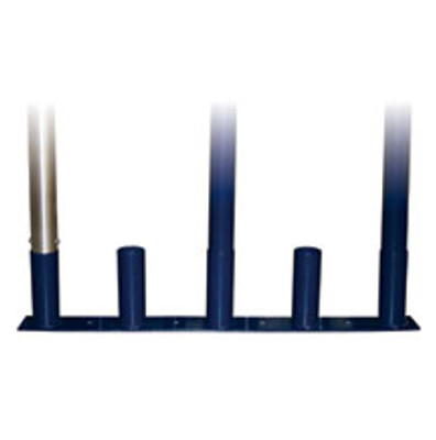 Upright Volleyball Pole Storage Stand (Floor Mount)