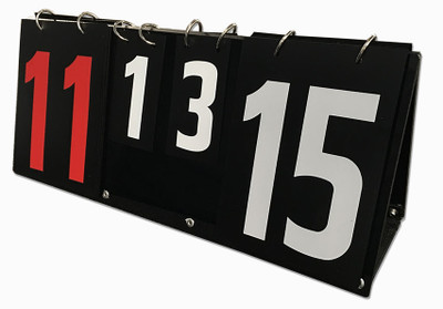 American Made Double-Sided Multi-Flap Scoreboard