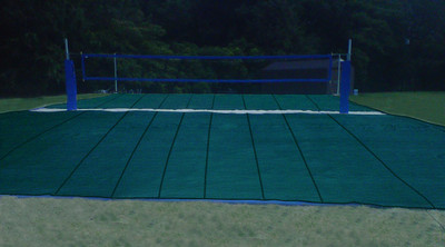 50' x 40' High End Mesh Style Sand Volleyball Court Covers