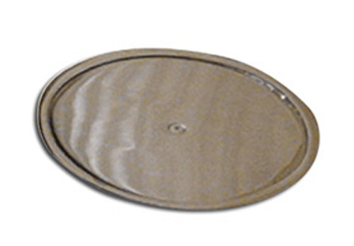 Extra-Large Float Plate in Chrome Plated Steel