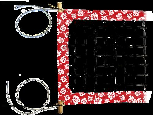 "Hawaiian: 4"" Professional Hawaiian Pattern Power Net"