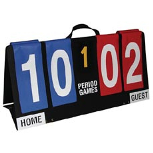 Single-Sided Individual Flap Portable Scoreboard