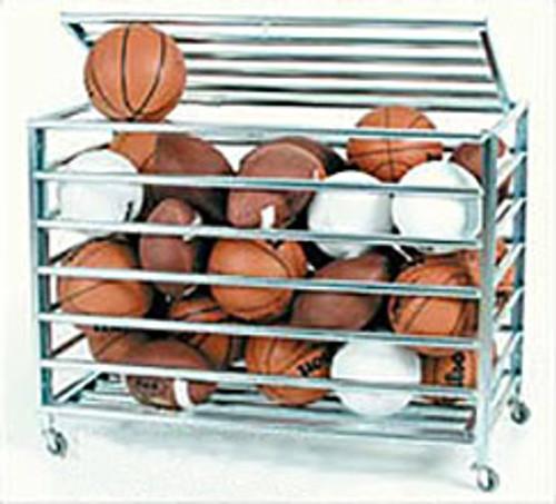 KP Lockable Steel Ball Cart