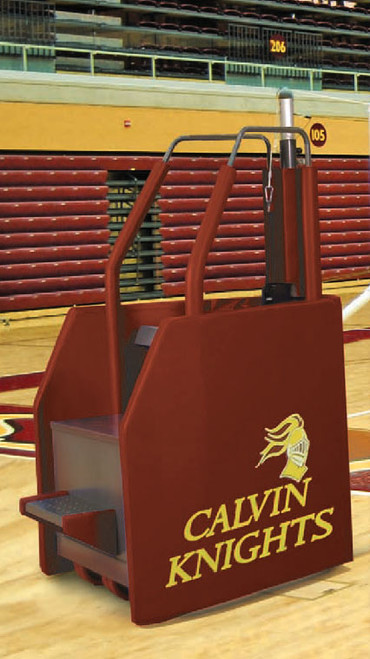 VB-FS-REF: Freestanding Volleyball System with Built In Ref Stand