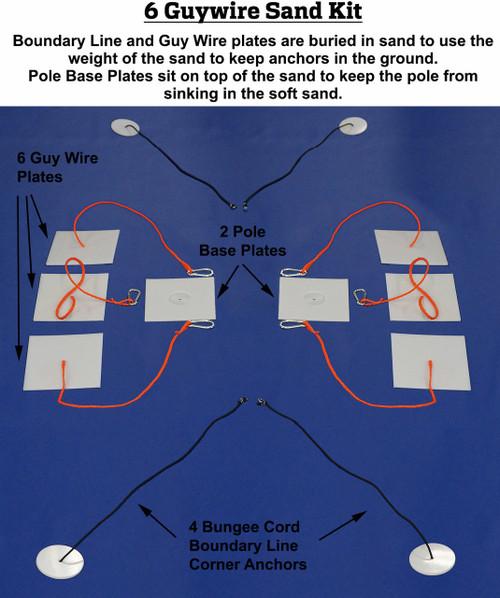 Sand Kit 6 Guy Wires
