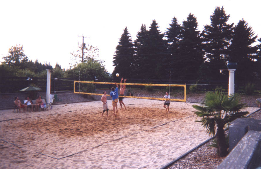 How To Construct A Volleyball Court
