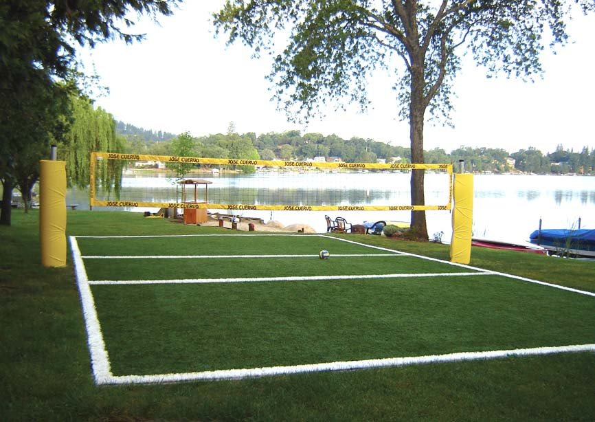 How to build a sand court in backyard 28 images triyae for How to build a sport court