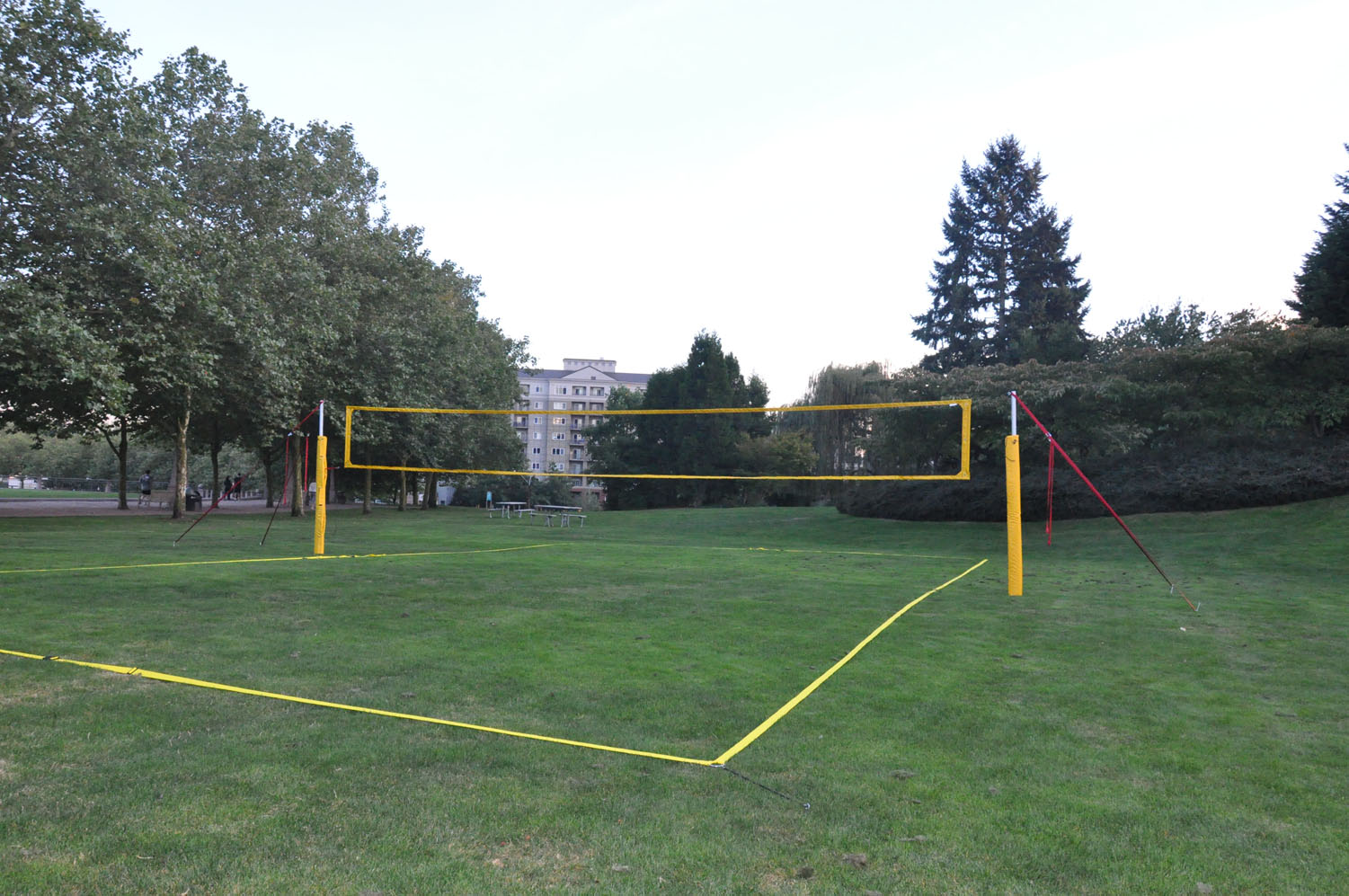 backyard volleyball net system