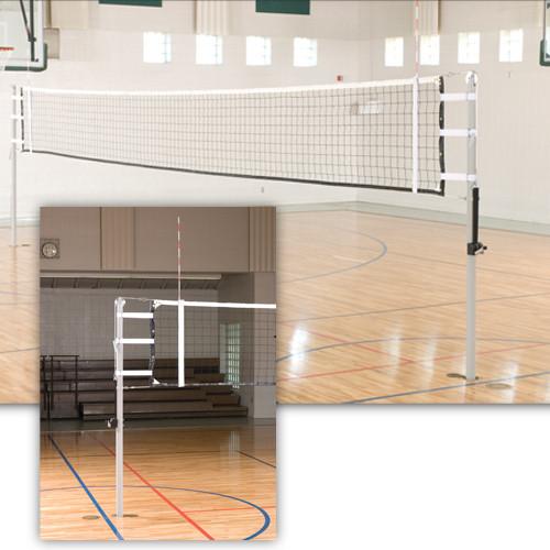 VX10 International Telescoping Volleyball Pole - Indoor Volleyball ...