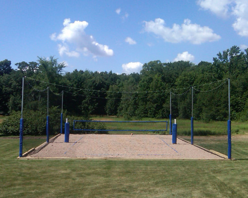 20 Volleyball Court Enclosure