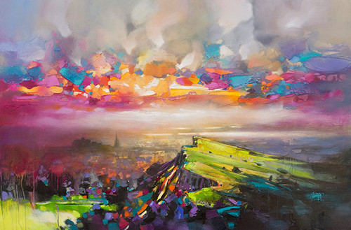 Edinburgh Sky by Scott Naismith