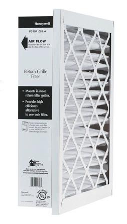 Honeywell FC40R Return Grill Madia Air Filter.