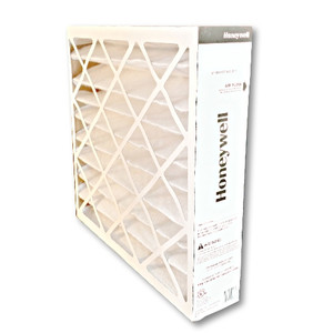 Honeywell FC200E1003 16x20 MERV13 pleated media air filter for use with heat pump, furnace or air conditioner.