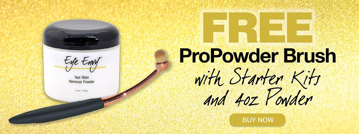 Free ProPowder Brush with 4oz Powder or Starter Kit