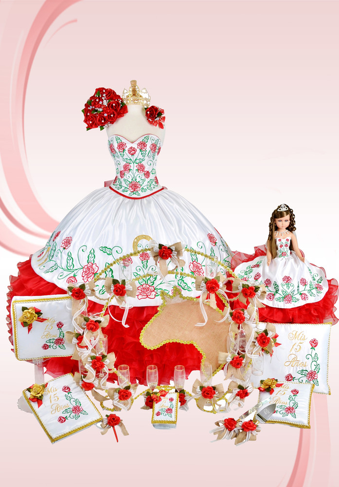 Charra Special Quinceanera Package With Dress And