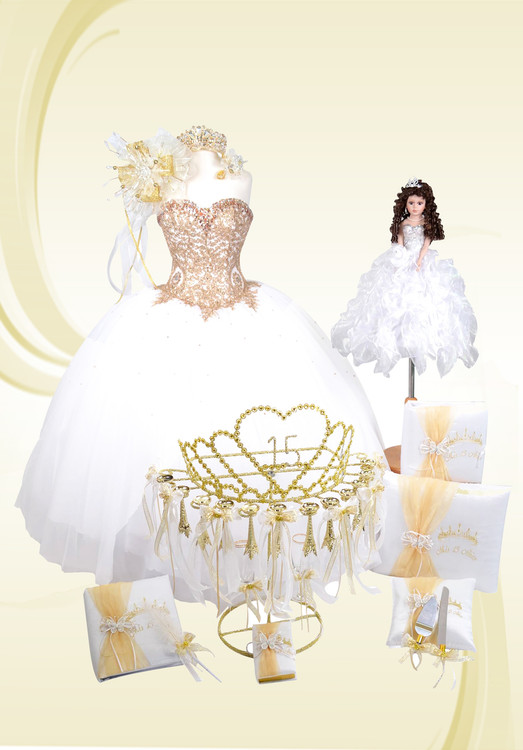 Princess Theme Special Quinceanera Package with Dress and Accessories #QSP56286