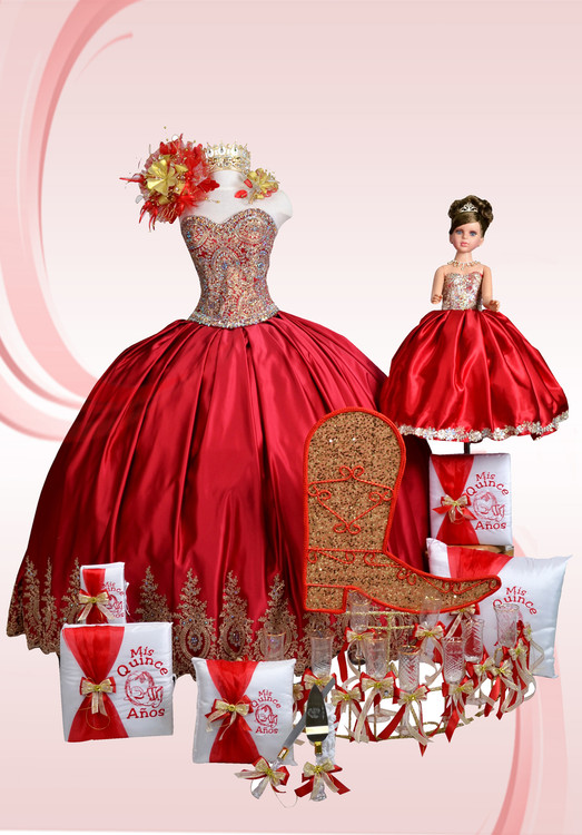 Western Theme Special Quinceanera Package with Dress and Accessories #QSP26826