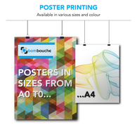 Poster Printing from £2.80