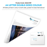 A4 Letter Double-Sided Colour (personalised inc 1st Class International)
