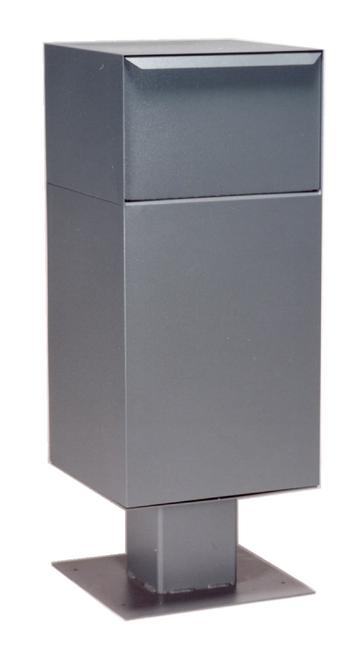 Gray Deposit Vault with Pedestal DVCS0030