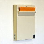 Wall Mounted Locking Office Drop Box - Low Profile