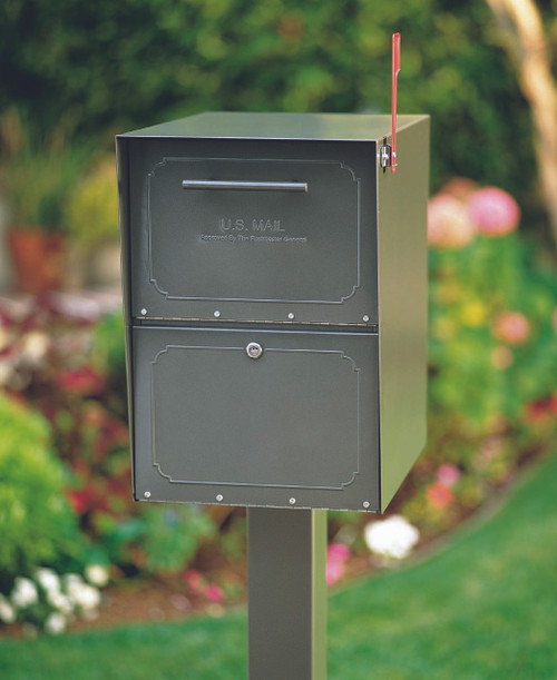 Bronze Locking Curbside Mailbox Curbside Secure Locking