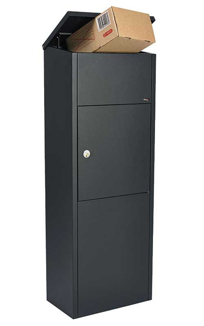 Top Loading Locking Parcel Drop Box Alx 600 Locking