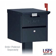 Locking Roadside Mailbox