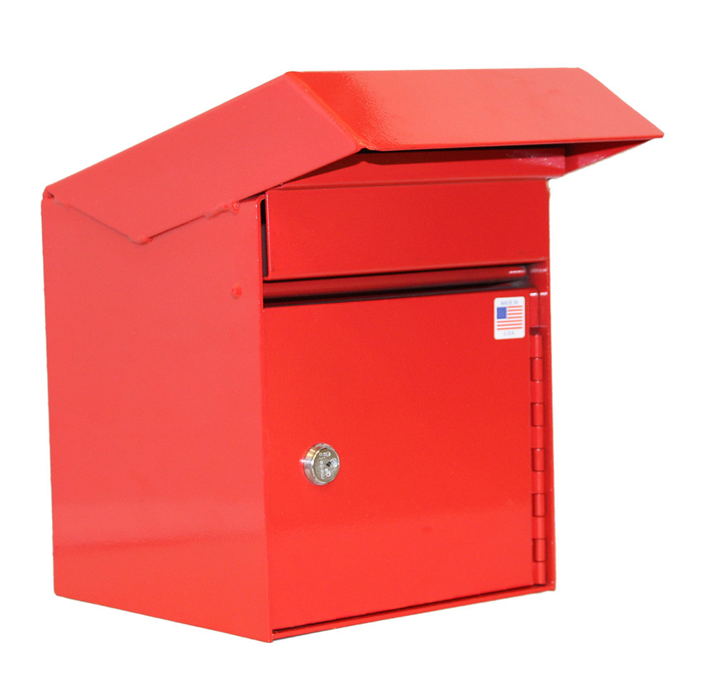 Outdoor Secure Payment Locking Drop Box Locking Drop Boxes