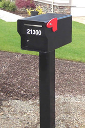 Quarter Inch Steel Locking Mailbox