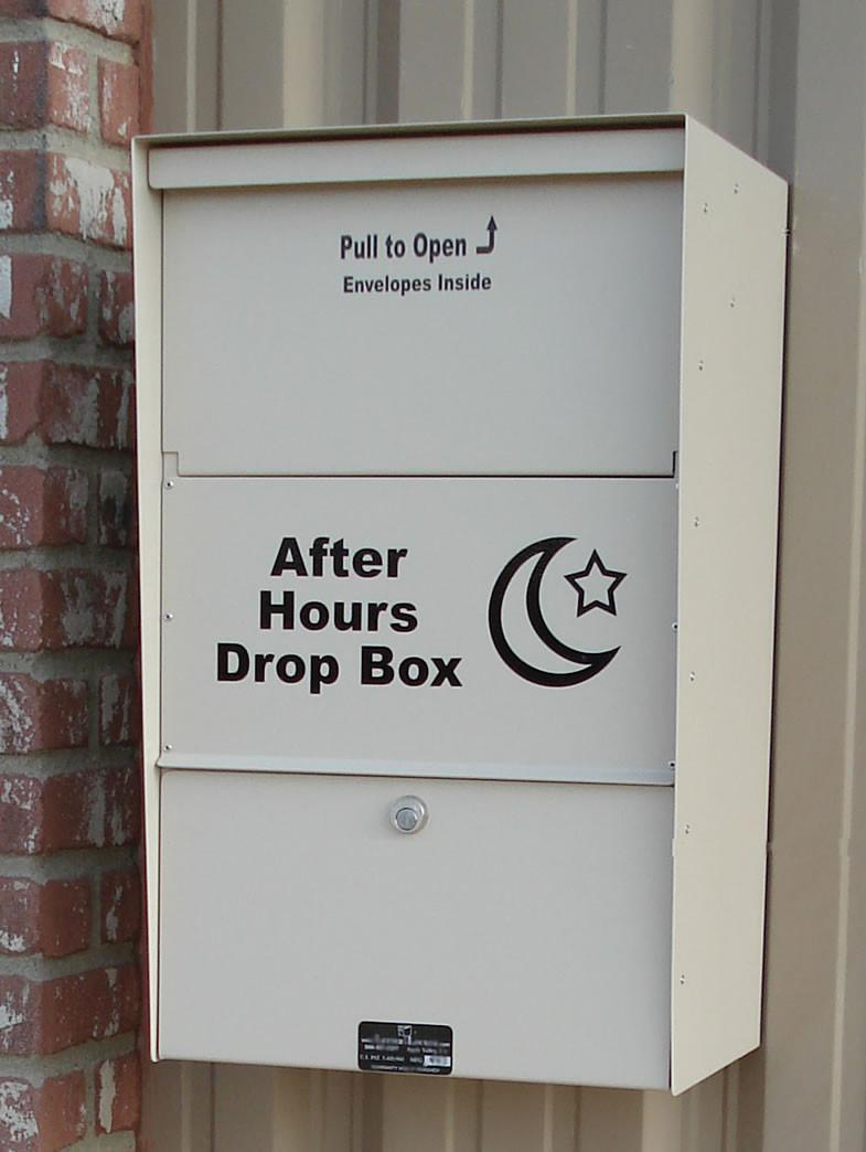Extra Large Wall Mounted Locking Dropbox Locking Drop Boxes
