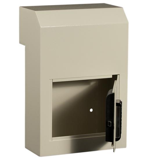 Through The Door Payment Drop Box With Combination Lock