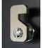 Vacationeer Mailbox close up of latch lock