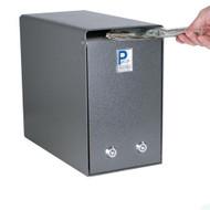 Locking Cash Box with Two Locks